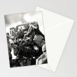 """""""Knights. Autobots. This cannot & will not be the end"""" Stationery Cards"""