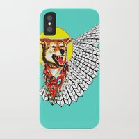 coyote iPhone & iPod Cases featuring Coyote by Renaissance Youth