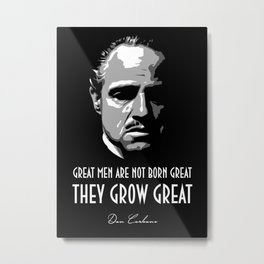 Don Corleone Metal Print