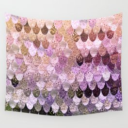 SUMMER MERMAID MOONSHINE  GOLD 2 Wall Tapestry