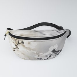 Assorted Cherry Blossoms in Muted Tones Fanny Pack