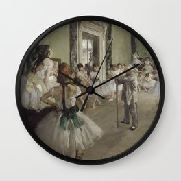 The Ballet Class Wall Clock