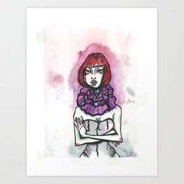 I can be colorful Art Print