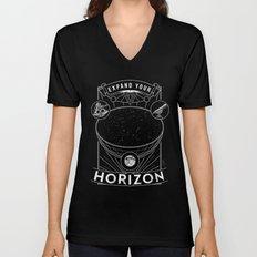 Expand Your Horizon  (Astronomy) Unisex V-Neck
