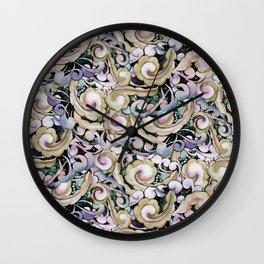 The Jeweled Owl/ Jubilee pattern Wall Clock