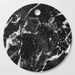 black white marble Cutting Board