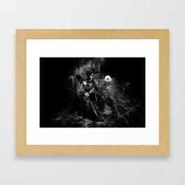Little Loki and The Jellyfish 2 Framed Art Print