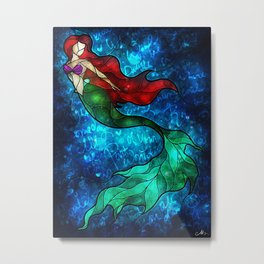 The Mermaids Song Metal Print