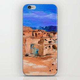 Taos Pueblo Village iPhone Skin