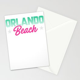 Orlando Beach Stationery Cards