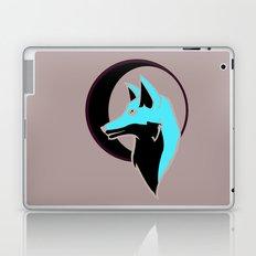 Night Fox with Moon Laptop & iPad Skin