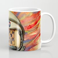 nasa Mugs featuring NASA Messed Me Up by Collage Calamity