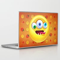 positive Laptop & iPad Skins featuring Positive by Keyspice