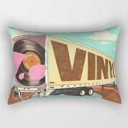 VINTAGE VINYL Rectangular Pillow