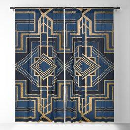 Art Deco Graphic No. 100 Blackout Curtain