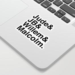 A Little Life - Jude JB Willem & Malcolm Sticker