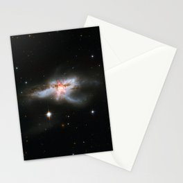 1728. NGC 6240: Merging Galaxies  Stationery Cards