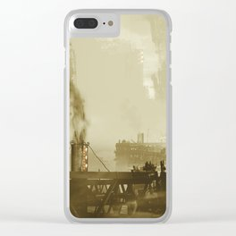 Industrious City Living... - Chris Little Clear iPhone Case