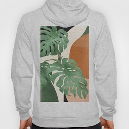 Tropical Leaves- Abstract Art  Hoody