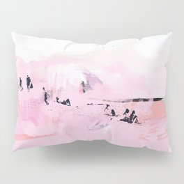 Peach Beach Pillow Sham