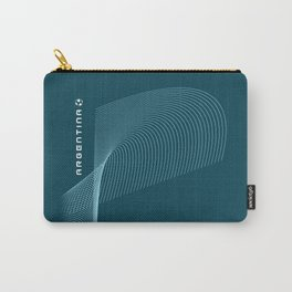Argentina World Soccer Team Carry-All Pouch