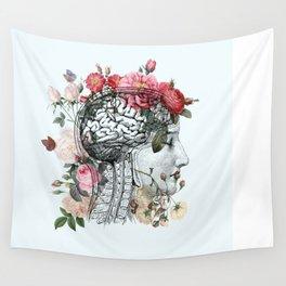 Beautiful Brain Wall Tapestry