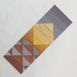 Pyramid Sun Mauve Purple Yoga Mat