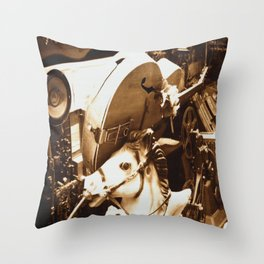 We Miss These Days Throw Pillow