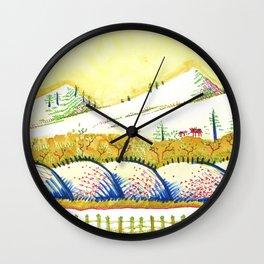 Tenderness Breaks Open the Earth Wall Clock