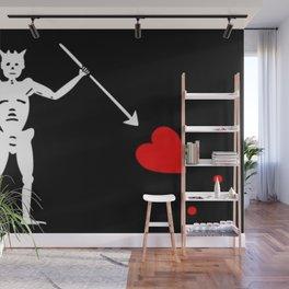 Blackbeard's Flag Wall Mural
