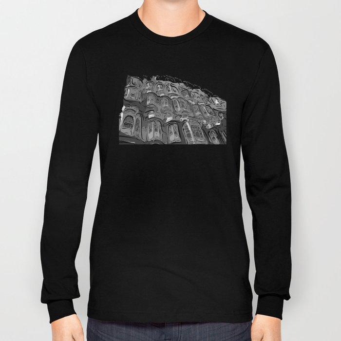 Lonley Planet Faces Long Sleeve T-shirt