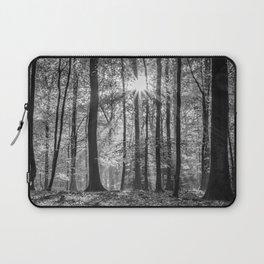 Beech Wood Sunrise Laptop Sleeve