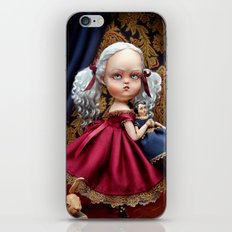 Annabelle White iPhone & iPod Skin