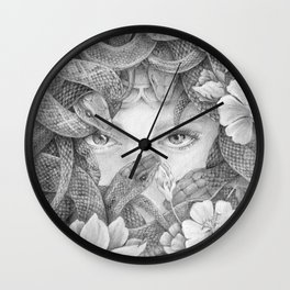Fear of Snake Wall Clock