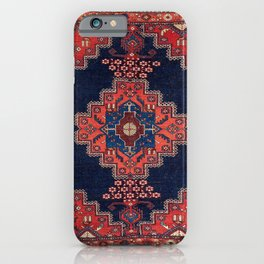 Afshar Kerman South Persian Rug Print iPhone Case