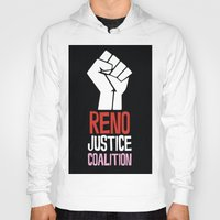 justice Hoodies featuring Justice by Marvelous Insanity