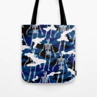 skeleton Tote Bags featuring SKELETON by DIVIDUS