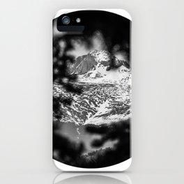 Peek-a-boo Mountains   Rocky Mountains National Park, Colorado iPhone Case