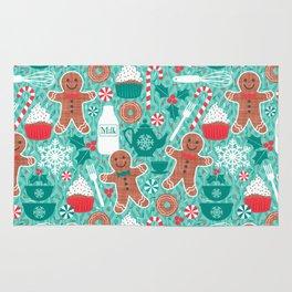Gingerbread Christmas Treats Rug