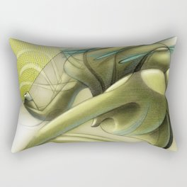 De los vuelos | Of flights { n°_ 001 } Rectangular Pillow