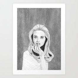 Unsure Art Print