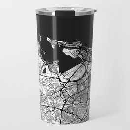 San Juan Map Gray Travel Mug