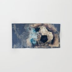 Abstract Grunge Soccer Hand & Bath Towel