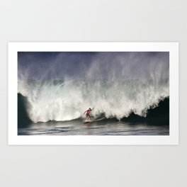 The Art Of Surfing In Hawaii 31 Art Print