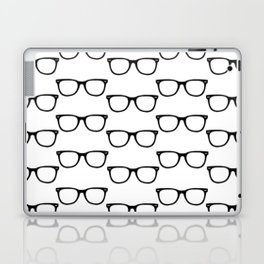 Black Funky Glasses Laptop & iPad Skin