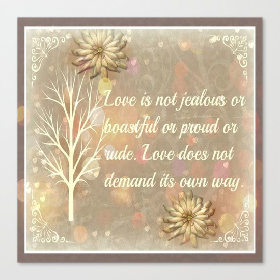 Love Two Canvas Print