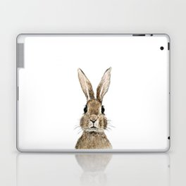 cute innocent rabbit Laptop & iPad Skin