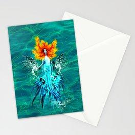 Siren splash Stationery Cards