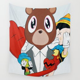 Pinocchio Story Wall Tapestry