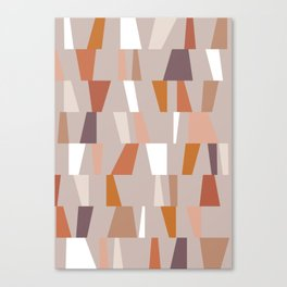 Neutral Geometric 03 Canvas Print